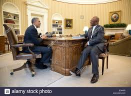 president barack obama meets with cabinet secretary broderick