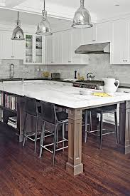 how to a kitchen island with seating 125 awesome kitchen island design ideas digsdigs
