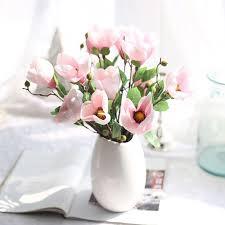magnolia flowers artificial magnolia flowers silk flower leaf magnolia wedding