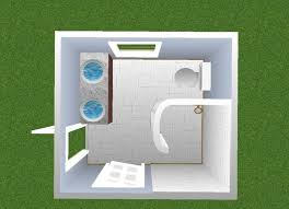 X  Bathroom Design - 6 x 6 bathroom design