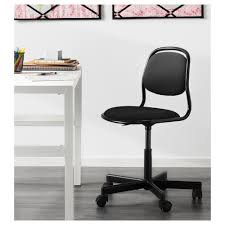 örfjäll children u0027s desk chair black vissle black ikea