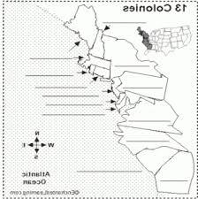 13 colonies blank map ugandalastminute