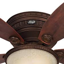 Tuscan Ceiling Fans With Lights Low Profile Ceiling Fans Flush Mount