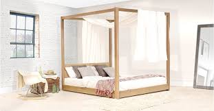 4 Post Bed Frame King Top Four Poster Bed Frame Pertaining To Home Designs