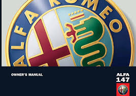 alfa romeo automobile 147 pdf owner u0027s manual free download u0026 preview