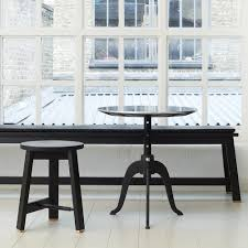 Manhattan Rectangle Adjustable Height Dining And Coffee Table Sidekicks Adjustable Height Table Ilse Crawford Table The