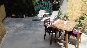 luxury ground floor house with veranda and a small backyard garden