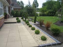 Garden Slabs Ideas Grey Slate Chippings In The Garden Border Search Garden