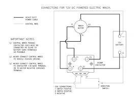 wiring diagram for electric winch u2013 the wiring diagram