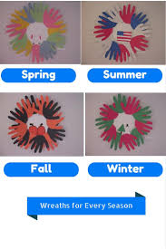 wreath crafts for kids for every season