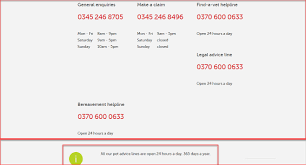 direct line pet insurance contacts