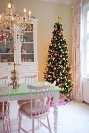 Christmas Dining Room Decorations Pretty Pastel Christmas Dining Room Pictures Photos And Images