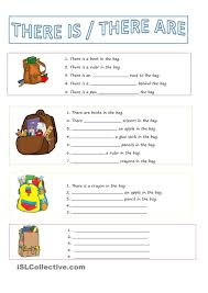 ideas of there is and there are worksheets pdf on letter template