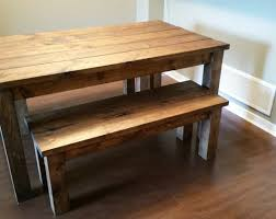 wooden bench for kitchen table best full size of dining room