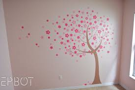 etsy cherry blossom wall decal at home and interior design ideas