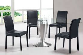 Brilliant Black Modern Dining Room Sets For  Pictures Startupio - Black and white contemporary dining table
