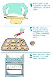 recettes de cuisine sur 3 la recette illustrée des sablés de noël hop toys