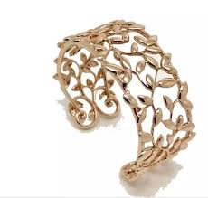 cuff bracelet tiffany images Tiffany co olive leaf cuff bracelet catawiki jpg