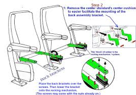 used home theater seating theater seating installation instructions