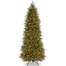 national tree company 12 ft jersey fraser fir pencil slim tree with