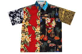 s multicolor hawaiian shirts