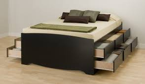 Plans For Platform Bed With Drawers by King Platform Bed With Drawers For Your Bedroom Modern King Beds