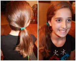 back cute easy hairstyles side pony medium styles