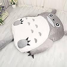 sofa bed mattress size amazon com norson my neighbor totoro sleeping bag sofa bed twin