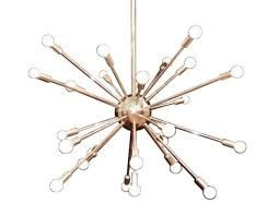 Sputnik Chandelier Sputnik Chandelier In Polished Nickel The Local Vault