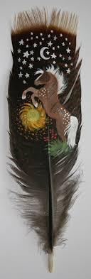 turkey feather painting turkey feather painting by veronicarosejones on deviantart