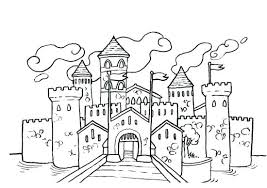 Coloriage Chateau Coloriage Chateau Princesse 5850