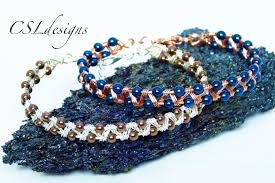 bracelet tutorials youtube images Easy zig zag wirework bracelet jpg