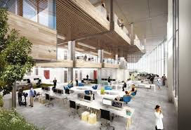 how new tech hqs are redefining office office