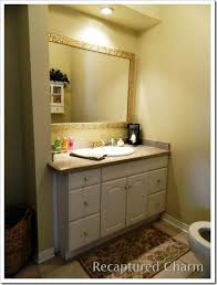 Gold Frame Bathroom Mirror 36 Best Framing Bathroom Mirrors Images On Pinterest Framing