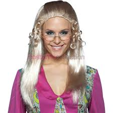 Halloween 70s Costumes Brady Bunch 70s Costume Party Blonde Wig Wigs