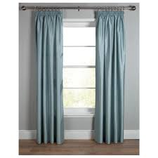 Raw Silk Drapery Panels by Duck Egg Blue Silk Curtains Nrtradiant Com