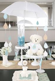 Baby Shower Decor Ideas by A Sweet Umbrella Themed Baby Shower Umbrella Centerpiece