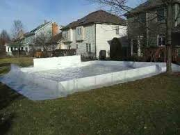 Ice Rink In Backyard Enjoy The Polar Vortex With A Homemade Backyard Ice Rink The