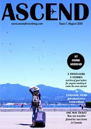 ascend travel magazine issue 1 at home abroad joomag newsstand