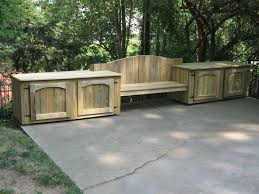 Outdoor Storage Bench Seat Plans by Diy Outdoor Storage Peeinn Com