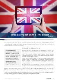 impact digital light shed brexit 39 s impact on the tmt sector eu agenda
