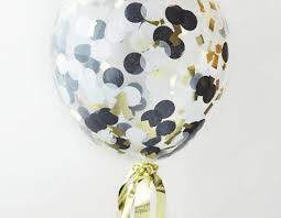 gold balloons 12 black gold white confetti balloons customize your