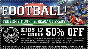 spirit halloween printable coupon ronald reagan library coupon printable coupon and deals