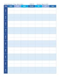 sample staff schedule template 7 free documents download in