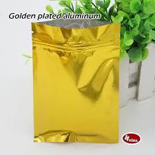 aliexpress buy 10 15cm golden opaque self styled bag
