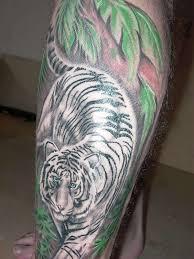 12 white tiger tattoos to model me now