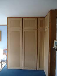 Bedroom Cupboard Doors Mdf Shaker Style Bedroom Wardrobe Doors U2013 Cotterell Carpentry