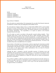 sample of audit engagement letter sow template