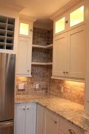 Corner Kitchen Cabinet Solutions by Upper Kitchen Cabinet Corner Shelf Kitchen Corner Cabinet Shelves