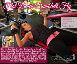 Flat Bench Db Fly Flat Bench Dumbbell Fly Fitness Tip Tuesday Exercises For